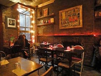 뉴욕 최고의 커피숍 및 베이글 바 - 머드스팟