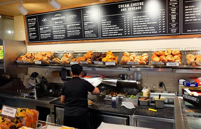 뉴욕 최고의 커피숍 및 베이글 바 - 픽어베이글
