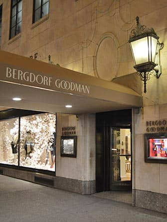 뉴욕 5번가 쇼핑 - 버그도르프 굿맨