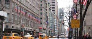 뉴욕 5번가 쇼핑