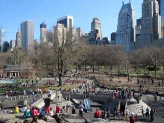 뉴욕 센트럴파크 헥셔 플레이그라운드
