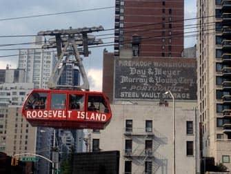 뉴욕 루즈벨트 아일랜드 트램 - 곤돌라