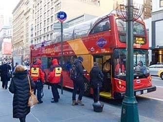뉴욕 사이트씨잉 데이 패스 - 시티투어 버스