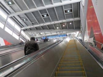 뉴욕 PATH - 에스컬레이터