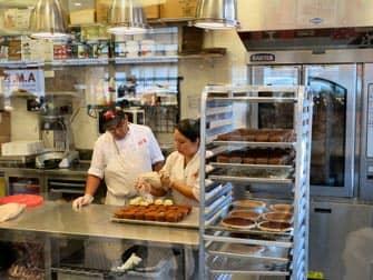 맨해튼 케이크 보스 카페 주방
