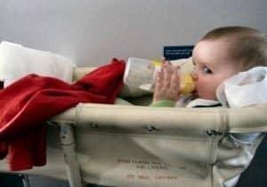 항공기 - 아기바구니
