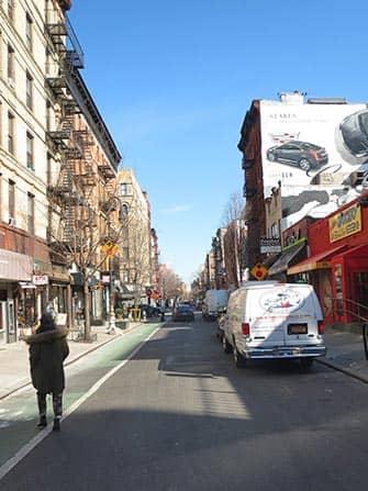 뉴욕 로어 이스트 사이드 - 거리