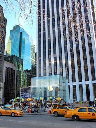뉴욕 전자제품 및 가전기기 - 애플스토어
