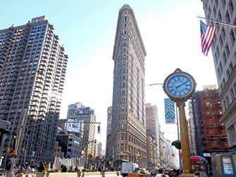 뉴욕 슈퍼히어로 투어 - 플랫아이언 빌딩