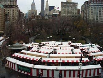 뉴욕 시장 - 크리스마스 마켓 유니언스퀘어