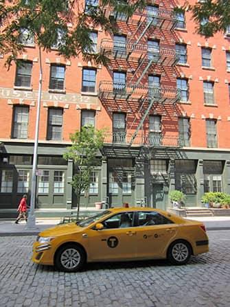 뉴욕 트라이베카 - 택시