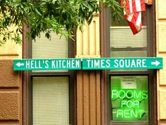 뉴욕 헬스키친 - 표지판