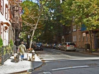 뉴욕 그리니치 빌리지 - 마을