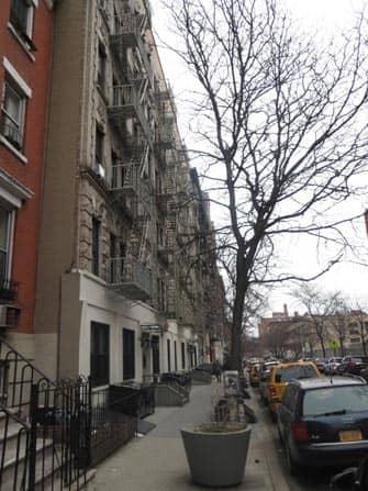 뉴욕 이스트빌리지 - 골목