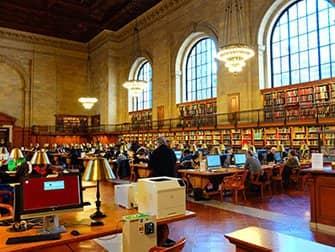 뉴욕 공공도서관 - 내부