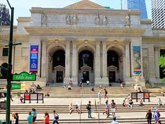 뉴욕 공공도서관 - 외관