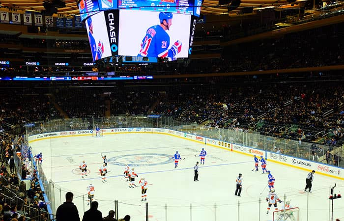 뉴욕 NHL 아이스하키