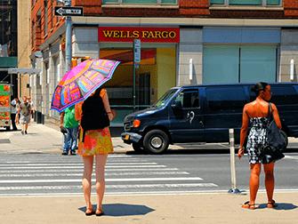 뉴욕의 의상 - 여름